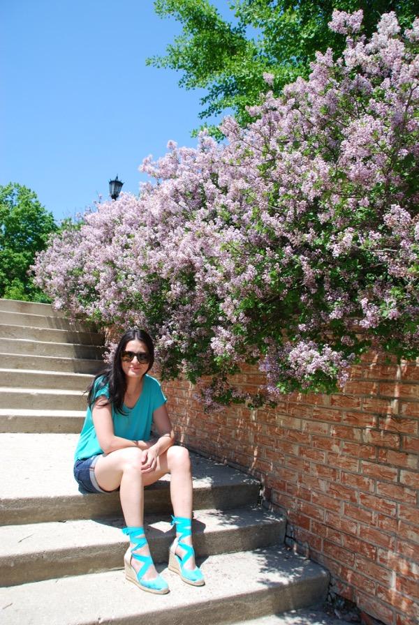 Teal & Lilacs - 2