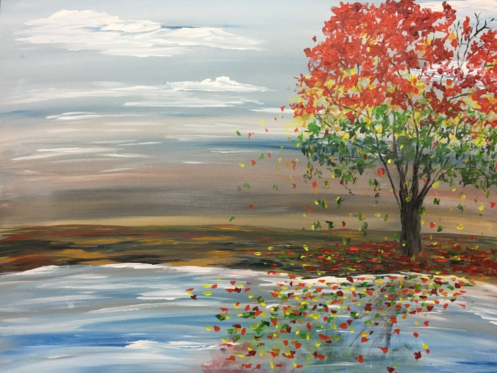 colorful-tree-in-a-barren-landscape