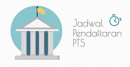 jadwal pendaftaran PTS