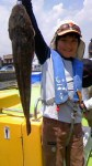 8月7日(火)マゴチ乗合  モンスターマゴチ浮上
