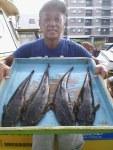 8月17日(土)単独営業のお知らせとマゴチ乗合釣果