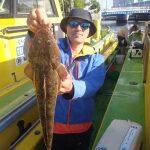 5月27日(水)船中61本 高級魚マゴチが