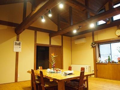 """鬼北町新築のリビングテーブルの画像""""new-kihoku2-1"""""""