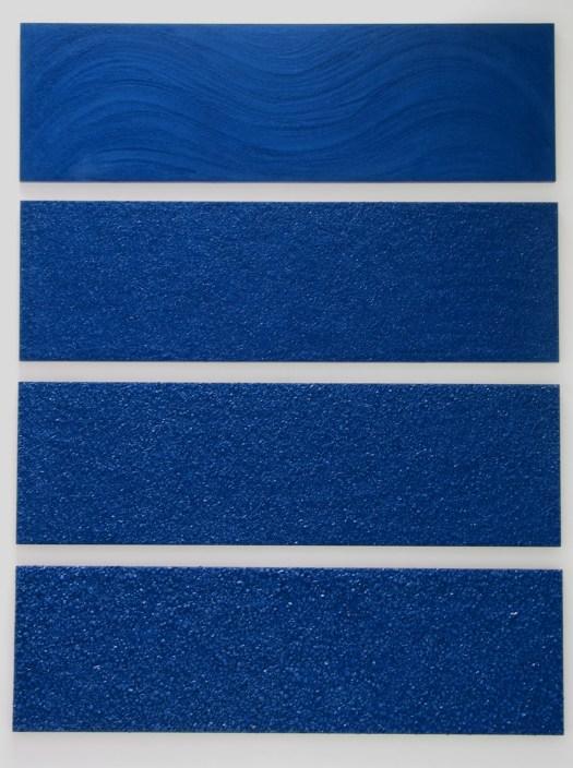 Ocean, 1996 (4 panels, 24 x 80 inches each)