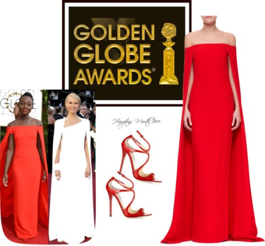 Dress with Intent..Lupita Nyong'o dazzles in Red 2014