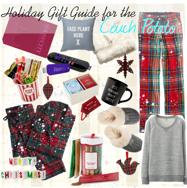 Holiday Gift Guide for the Couch Potato in your life!