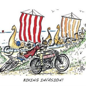 Motorcycle Cartoons