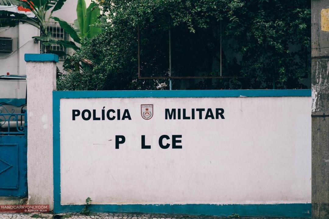 military police station rio de janeiro brazil