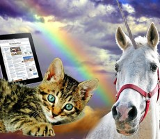I want a pony! No, a unicorn! And a kitten! And an iPad!!