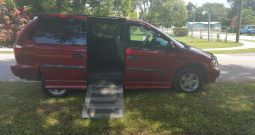 2007 Dodge Grand Caravan Wheelchair Van with 6 Way Seat
