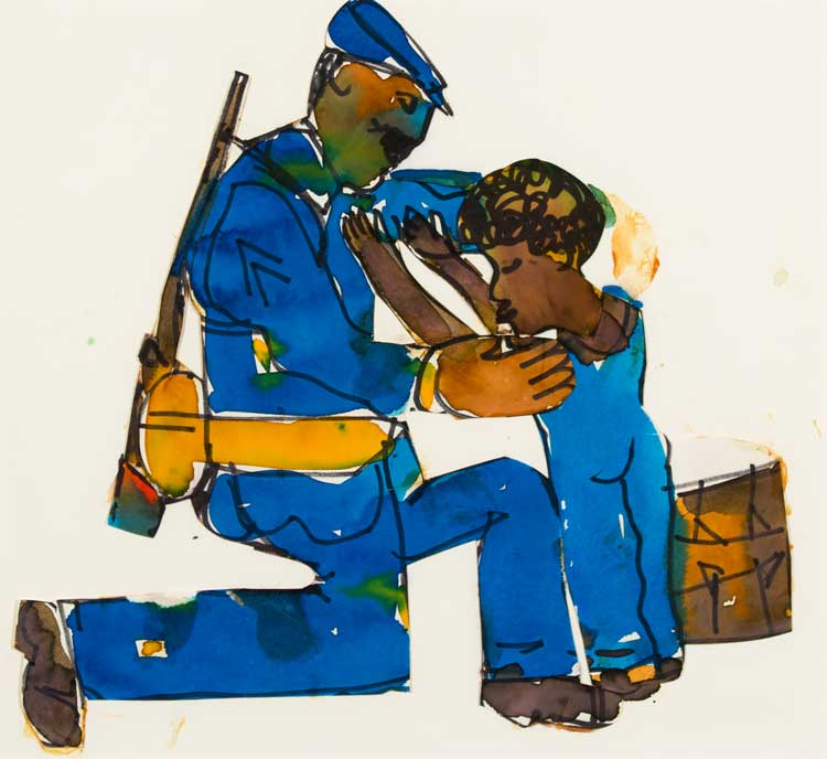 Join the Cumberland County Art's Council for Romare Bearden Beat of a Different Drum for Black History Month