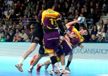Lagarde , HBC Nantes, EHF, Lions