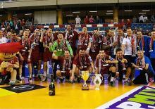 A Debrecen, Veszprém a remporté sa 25ème Coupe de Hongrie. (Photo : page officielle du club)