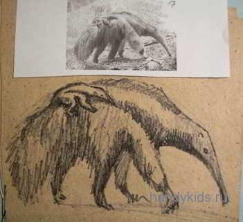 Рисуем экзотических зверей