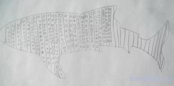 Раскраса Акулы