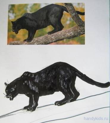 Рисунок пантера