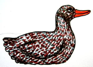 Mother Duck coloring 13
