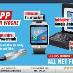 S5 mini + Smartwatch + 7 Zoll Tablet + Powerbank + Allnet Flat nur 19.99€ mtl.