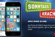 Apple iPhone SE 64 GB ohne Vertrag nur 499,99 Euro