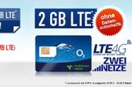 Allnet Flat 2 GB LTE nur 8,99€ monatlich