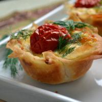 Yufka kasesinde patates sufle
