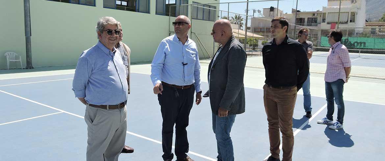 Δήμαρχος Χανίων: Σε εξέλιξη σημαντικά έργα σε αθλητικές εγκαταστάσεις