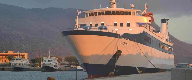 Κρήτη - Κύθηρα - Πελοπόννησος | Τα δρομολόγια του πλοίου «Ιονίς» από τις 28 Σεπτεμβρίου