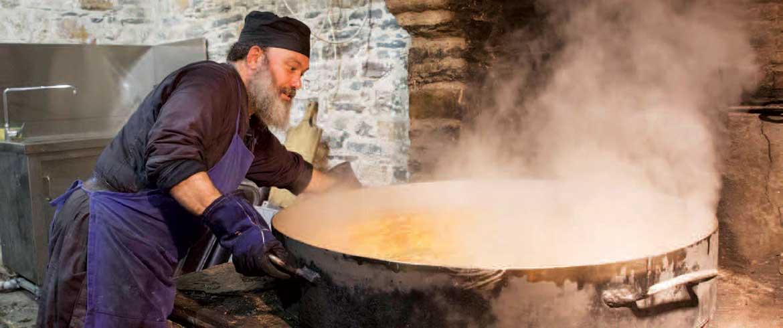 Η νηστήσιμη μαγειρική του Αγίου Όρους