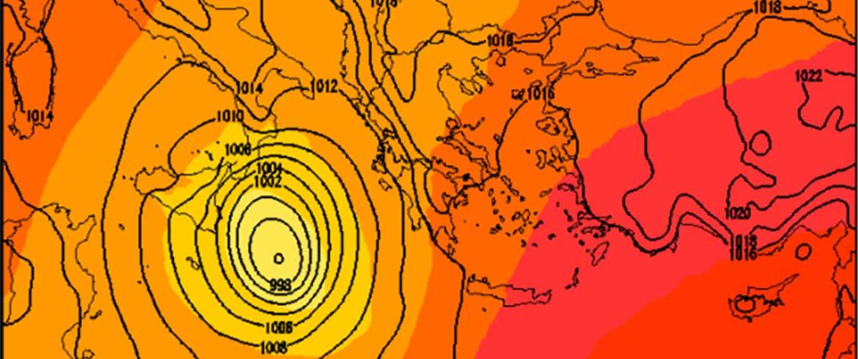 Στο επίκεντρο του «Ξενοφώντα» και η Δυτική Κρήτη - Και στο βάθος... τροπική καταιγίδα;