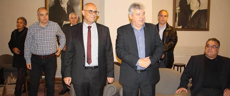 Εκλογές στο ΕΒΕΧ | Στο πλευρό Μαργαρώνη ο Γιάννης Φραγκάκης