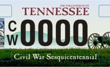 civil-war-license-plate