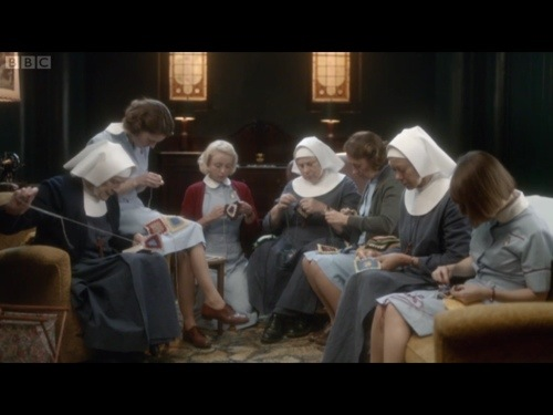 Call The Midwife - knitting and crochet