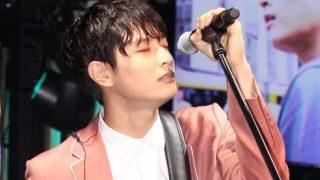2AM ジヌン、1stソロマキシシングル「WILL」のショーケース開催