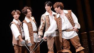 ミュージカル「三銃士」のプレスコール開催。カイ、ZE:Aヒョンシク、B1A4シヌゥとサンドゥル