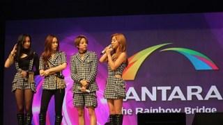 f(x)、4人組になって国内初ステージ、テンセントK-POPライブに出演