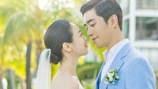 俳優シン・ソンロク、ハワイでのロマンチックな結婚式の写真を公開