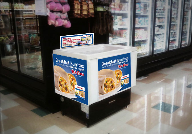 Bob Evans In-store Display Signage