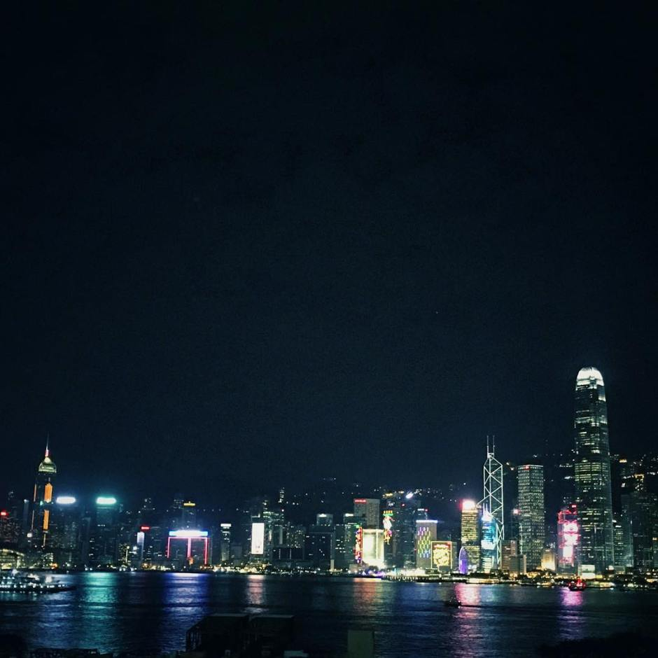 Good night Hong Kong HongKong HaoKouFu  travel night