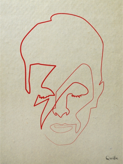 bowie one line