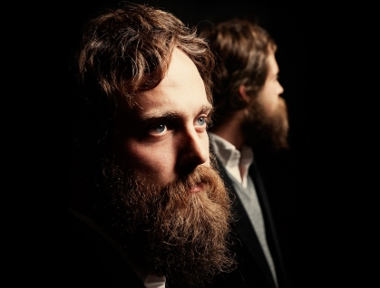 iron and wine in the dark