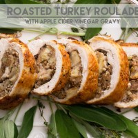 Roasted Turkey Roulade