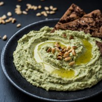 Super Green Goddess Hummus