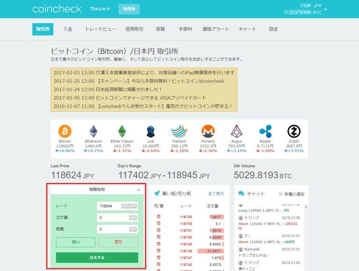 bitcoin購入