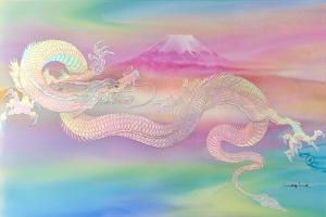ピンクゴールド虹龍