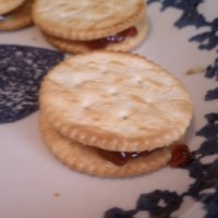 Ritz Peanut Butter and Jelly Sandwich Crackers