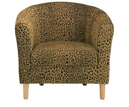 Leopard Print armchair