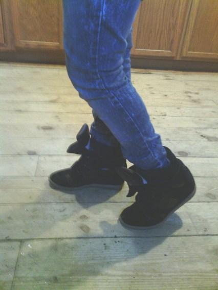 upere wedge sneaker hidden heel