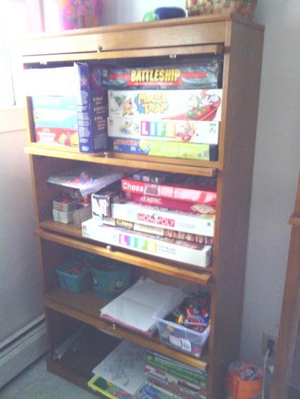 Family Board Game Area