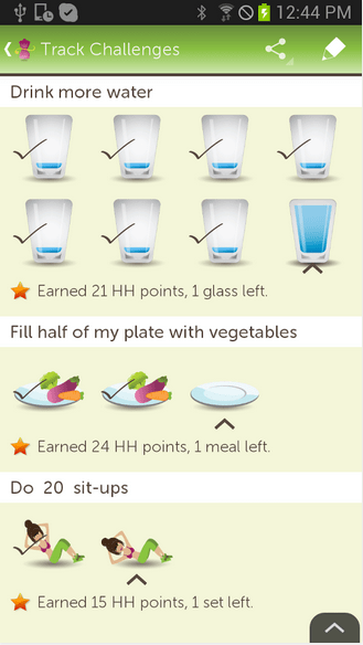 Diet screen 2
