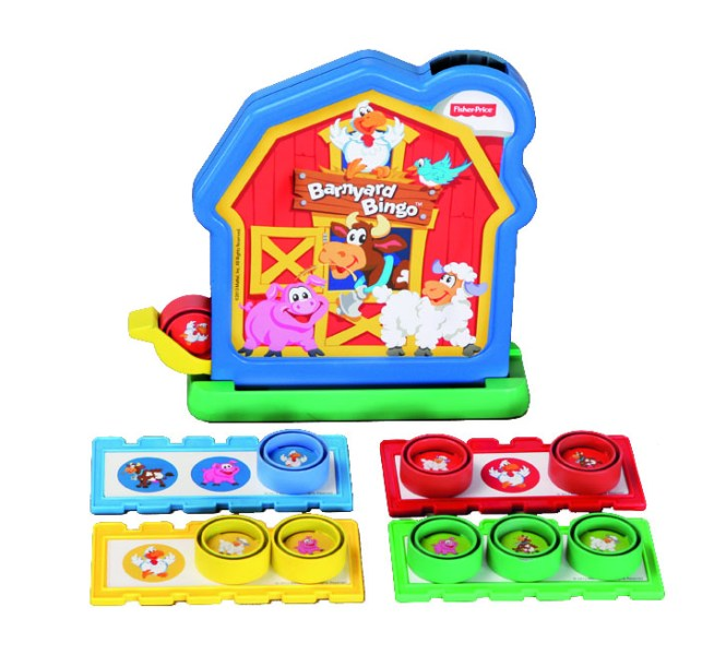 TCG Fisher-Price BarnyardBingo Game